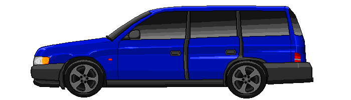 Blue Car In Selection Screen (1)