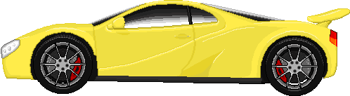 Yellow Car In Selection Screen